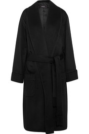 Joseph Page belted wool and cashmere-blend coat