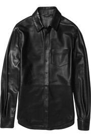 Garcon leather shirt
