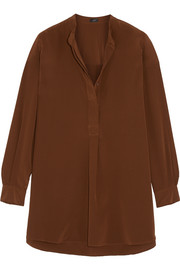 Dara silk crepe de chine shirt
