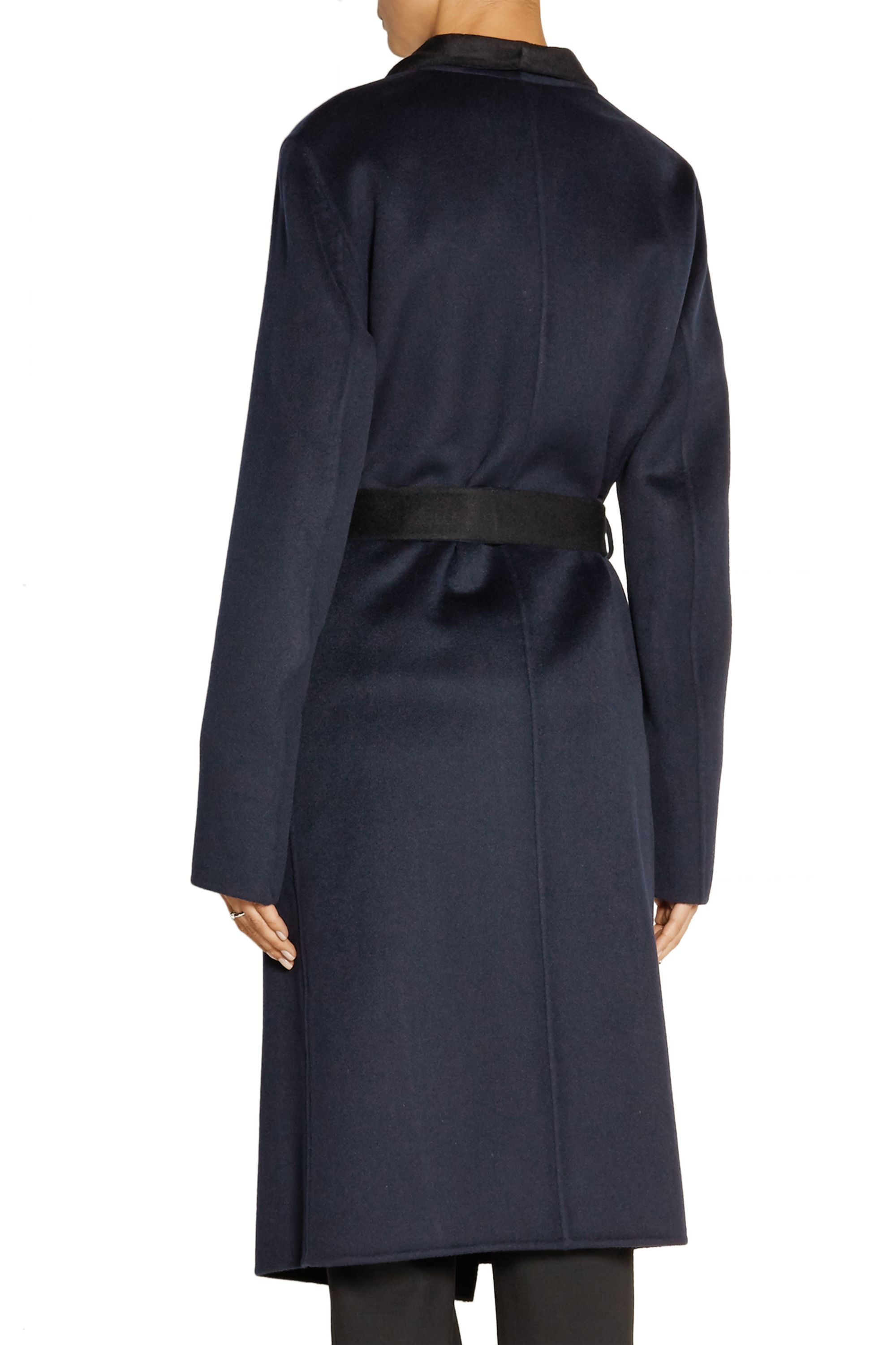 Joseph Live Long two-tone wool and cashmere-blend coat