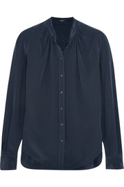 Carly silk crepe de chine shirt