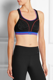 Shock Absorber Ultimate Run mesh and stretch-jersey sports bra