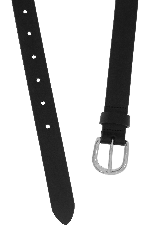 Isabel Marant Zap matte leather belt