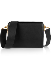 Marni Box leather shoulder bag