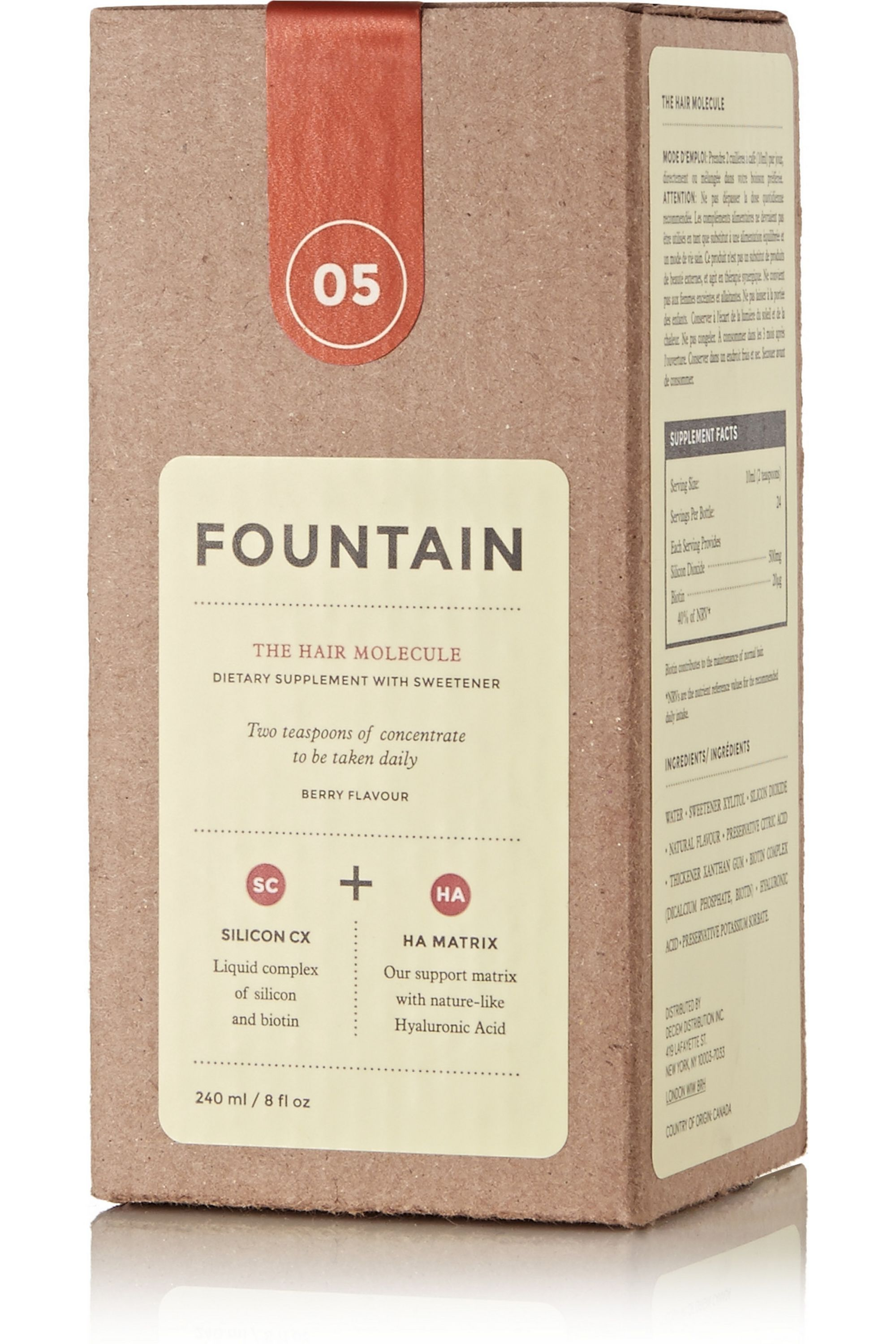 FOUNTAIN The Hair Molecule, 240ml