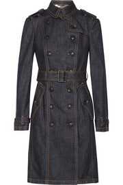 Burberry Brit Denim trench coat
