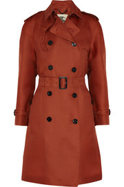 Burberry London Silk-organza trench coat