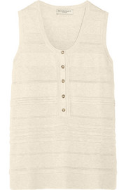 Burberry London Ribbed cotton-blend top