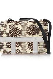 Cage snake shoulder bag