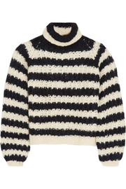 Chloé Striped silk-blend sweater