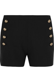 Chloé Stretch-wool gabardine shorts