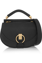 Goldie small leather shoulder bag