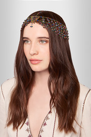 Odalisca gold-tone quartz headpiece