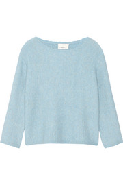 3.1 Phillip Lim Cropped stretch-knit sweater