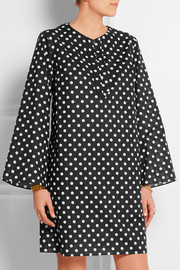 Dolce & Gabbana Polka-dot cotton-voile dress