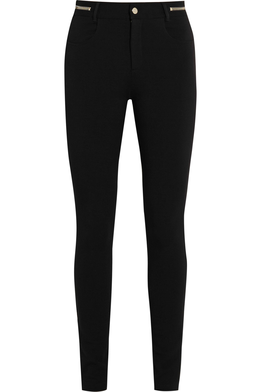 Givenchy Skinny pants in black ponte