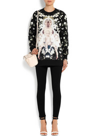 Givenchy Flower Madonna sweatshirt in printed cotton-jersey