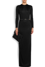 Givenchy Gown in black satin-jersey