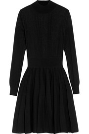 Givenchy Pointelle-knit mini dress
