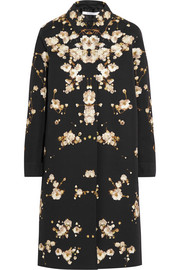 Givenchy Coat in floral-print cotton-canvas