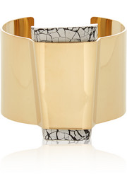 Gold-plated resin cuff