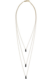 Isabel Marant Collier gold-plated horn necklace