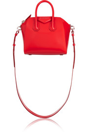 Mini Antigona bag in red leather