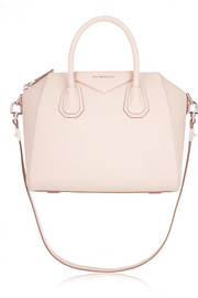 Givenchy Small Antigona bag in pastel-pink textured-leather