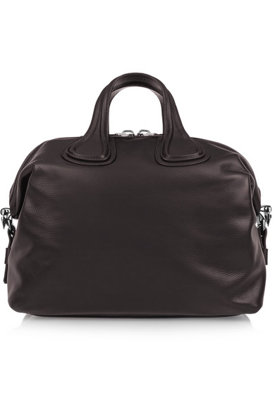 a23470465d Givenchy. Medium Nightingale bag in dark-brown leather.  982. Play