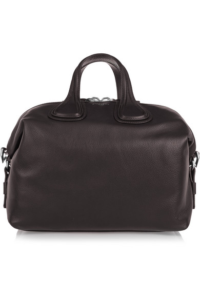 8c99179f17 Givenchy. Medium Nightingale bag in dark-brown leather