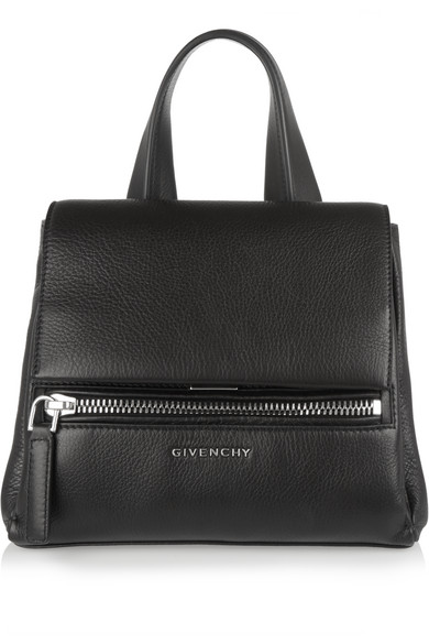 c6cd472b2d5 Givenchy | Mini Pandora Pure bag in black textured-leather |  NET-A-PORTER.COM