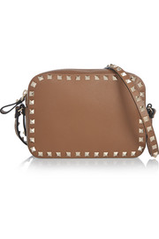 The Rockstud leather shoulder bag