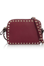 Valentino The Rockstud leather shoulder bag