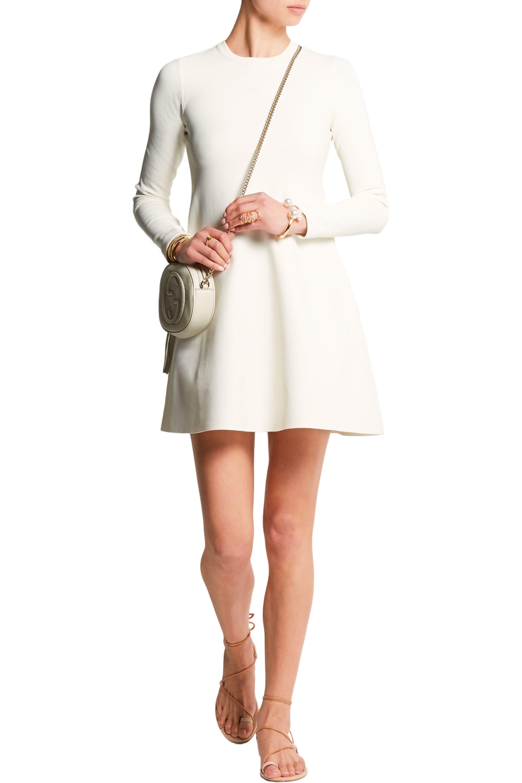 Valentino Stretch-crepe mini dress