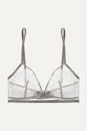 Eres Montsouris Mabillon Chantilly lace soft-cup triangle bra