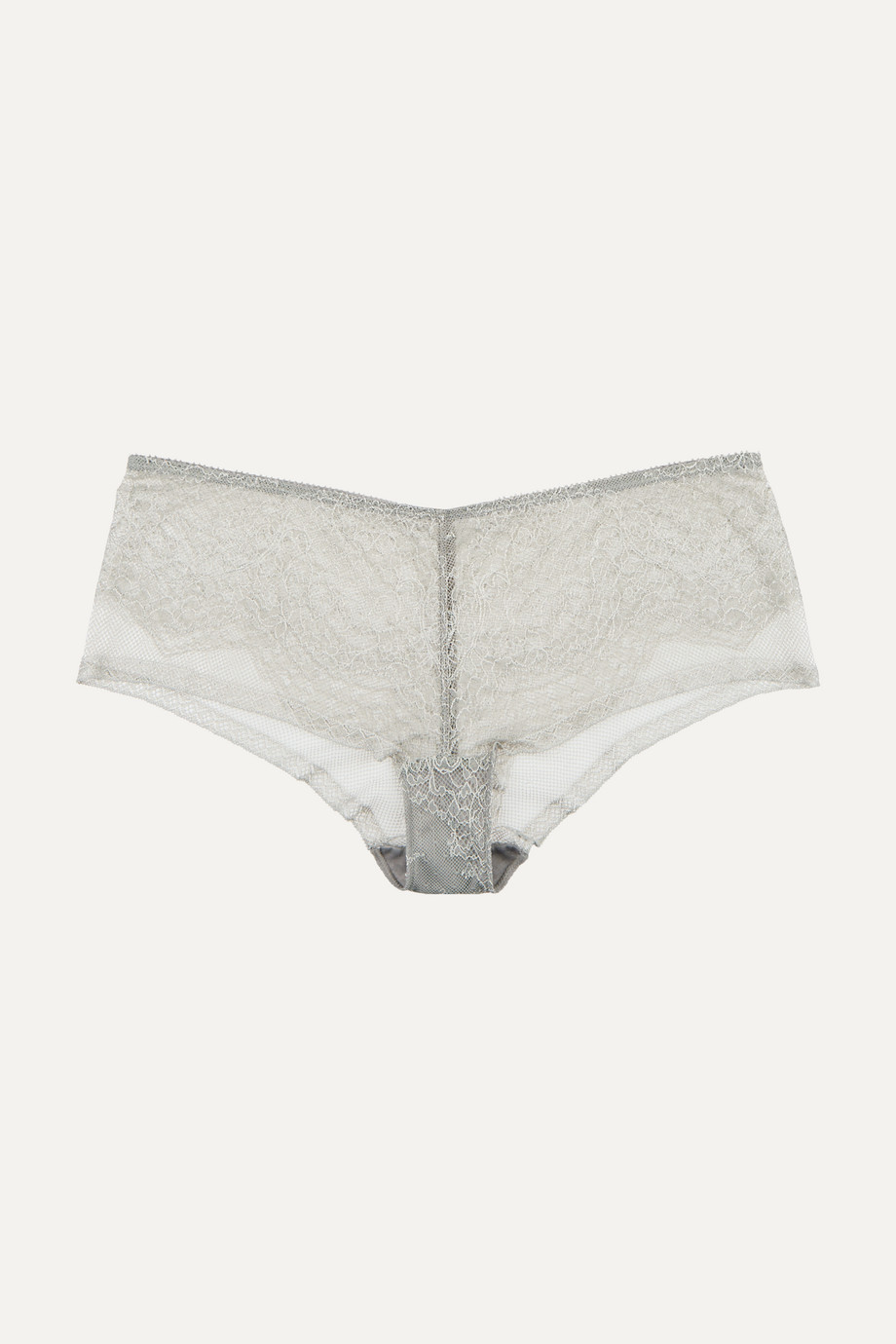 Eres Montsouris Vincennes Chantilly lace and tulle briefs