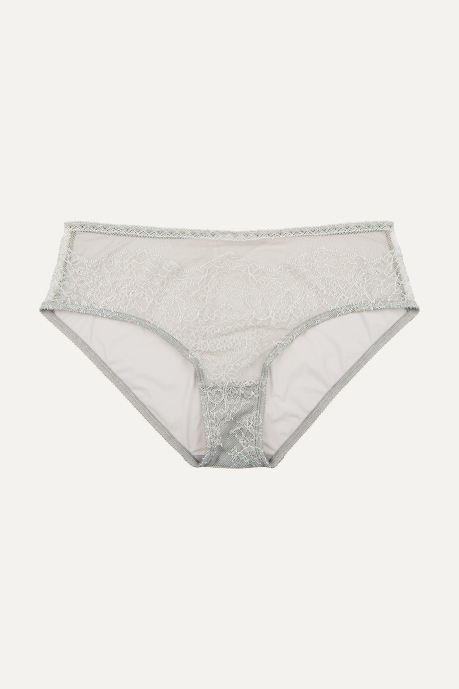 Eres Montsouris Notre-Dame Chantilly lace and tulle briefs