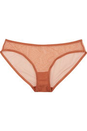 Bambin stretch-tulle low-rise briefs