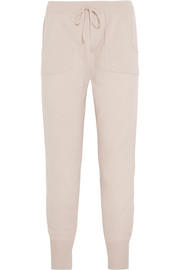 Eres Confidente Ardent wool and cashmere-blend track pants