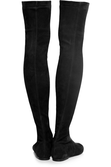 d57fee6ed78 Isabel Marant. Brenna suede over-the-knee boots. £234. Play. Zoom In