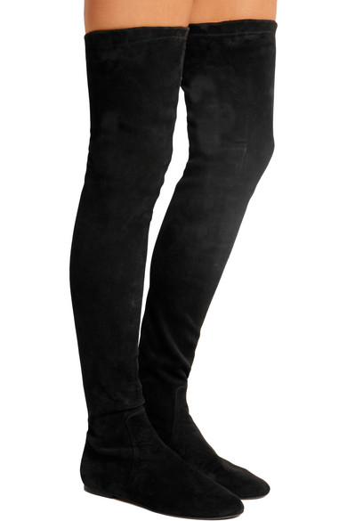 4f2dd8f2a63 Isabel Marant. Brenna suede over-the-knee boots