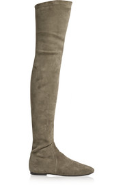 Étoile Brenna stretch-suede over-the-knee boots