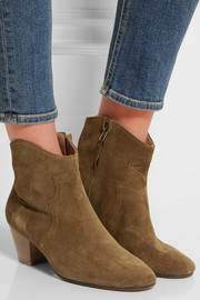 Isabel Marant Étoile The Dicker suede ankle boots