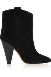 Roxann suede ankle boots