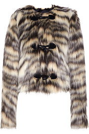 Lanvin Cropped faux fur jacket