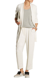 Lanvin Stretch-crepe tapered pants