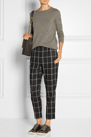 Lanvin Wool-blend flannel tapered pants