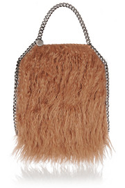 The Falabella mini faux fur tote