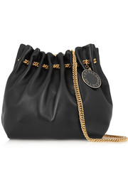 Noma small faux leather shoulder bag