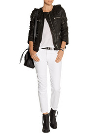 Kady leather biker jacket